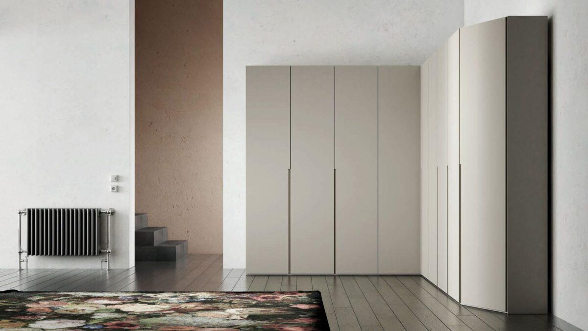 Filo 120 hinged door