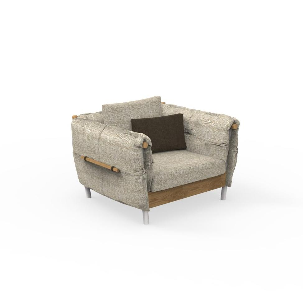 DOMINO LIVING ARMCHAIR