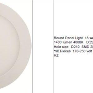 Χωνευτό φωτιστικό LED ECO