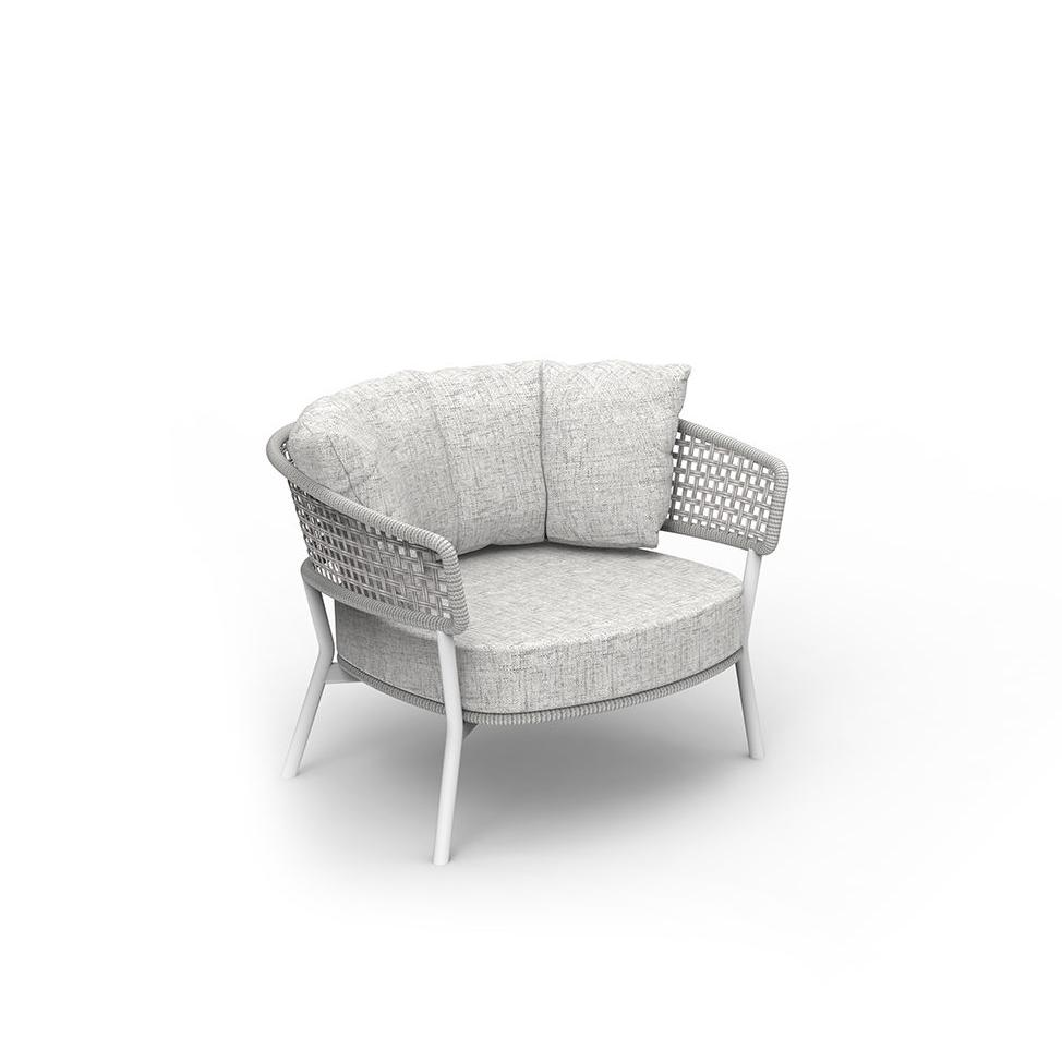 MOON//ALU LIVING ARMCHAIR